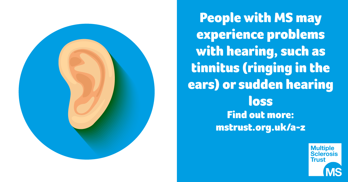 Hearing problems | MS Trust