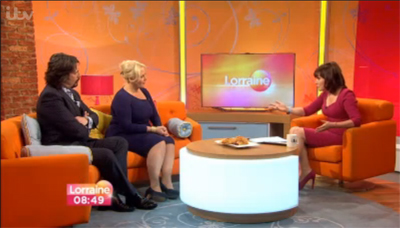 Jackie and Laurence Llewelyn Bowen discuss MS Awareness Week on ITV's Lorraine