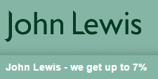 John Lewis- we get up to 7%