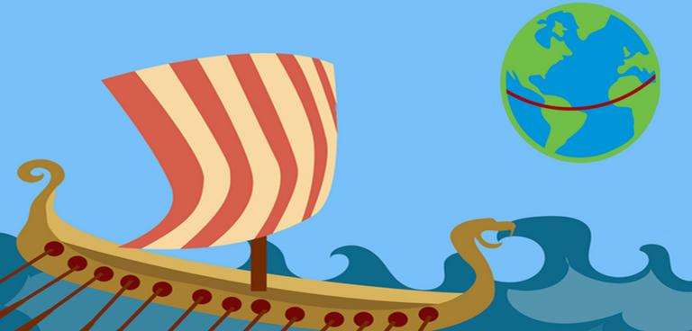 Vikings touring the world