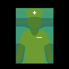Illustration of MS nurse