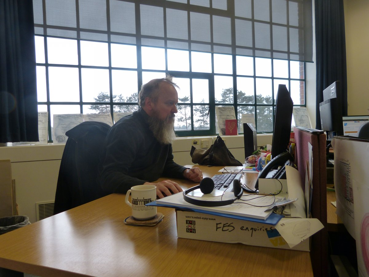 Simon from the information team