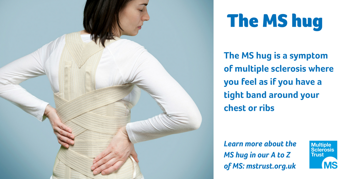 MS hug | MS Trust