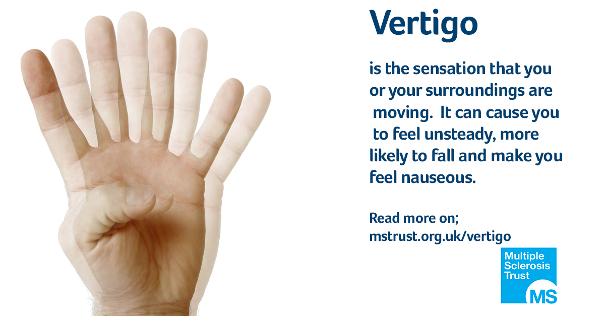 Dizziness (vertigo) | MS Trust