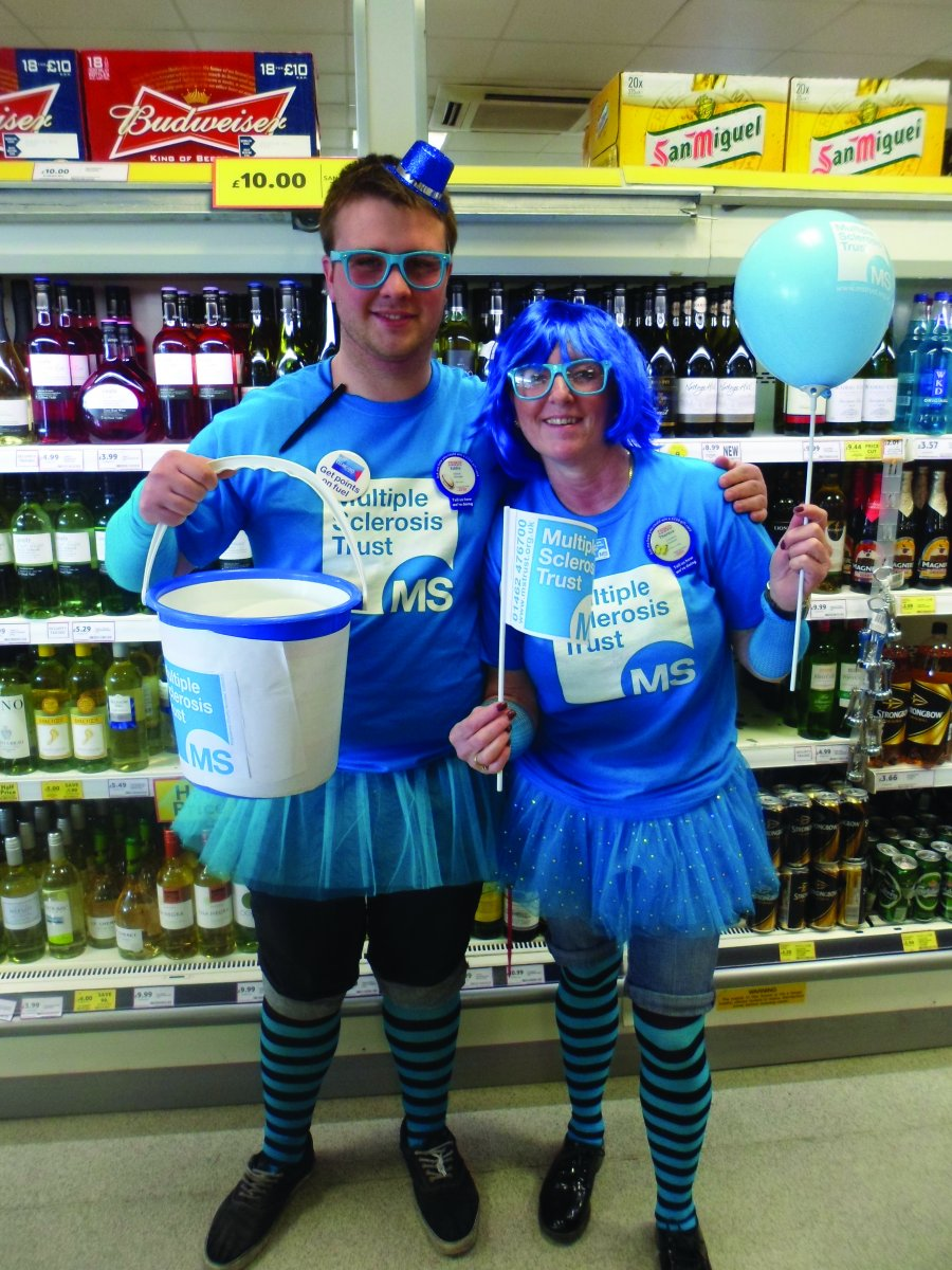 Be Bold in Blue fundraisers
