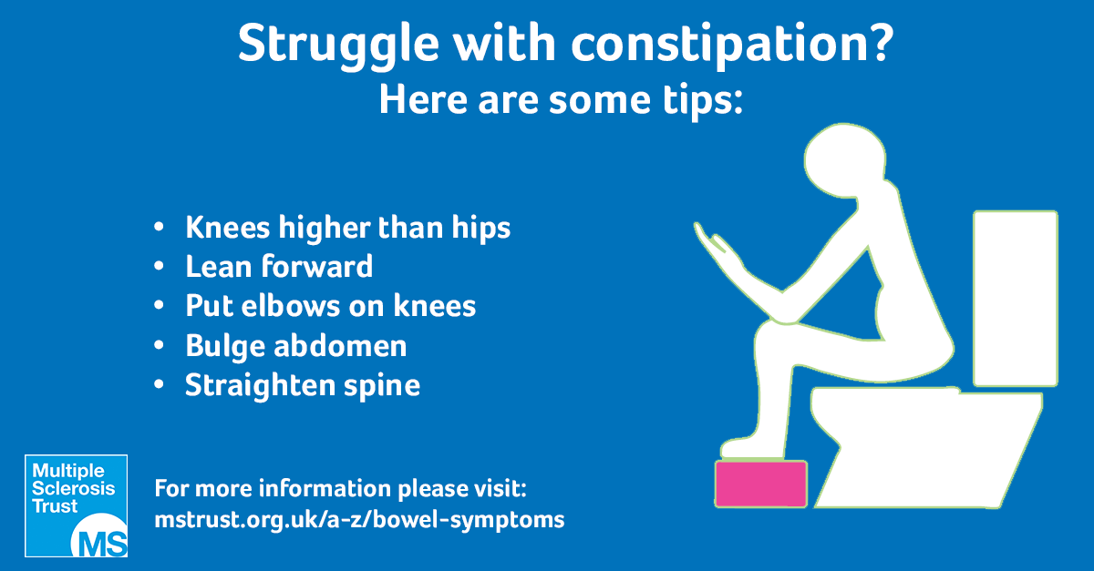 Bowel problems | MS Trust