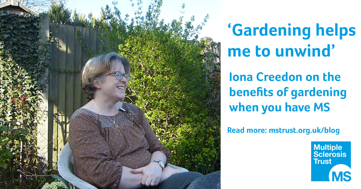 Gardening and MS: \'Gardening helps me to unwind\' | MS Trust