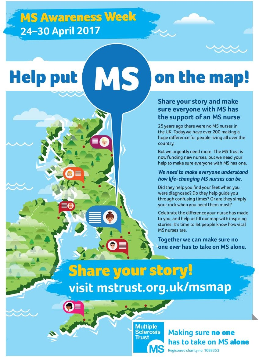 Let's make MS care fair infographic