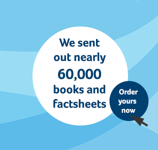 We sent out nearly 60,000 books and factsheets-Order now