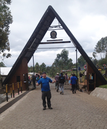 Kenny Smith at Machame gate