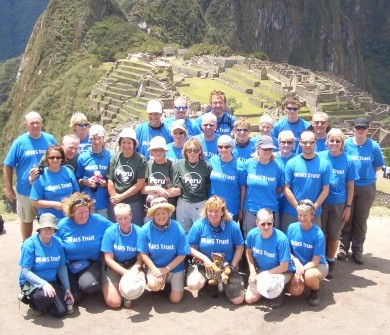 MS Trust at Machu Picchu