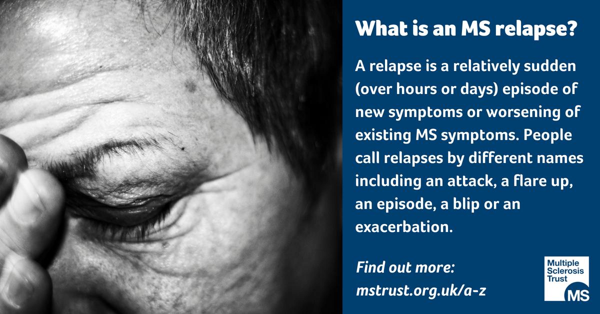 Managing relapses | MS Trust
