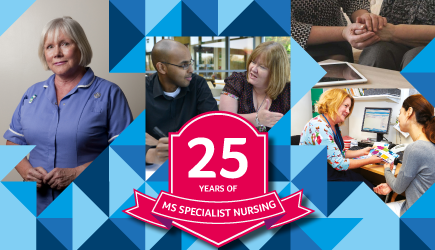 25 years of MS specialist nursing