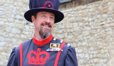 Yeoman Warder Andy Merry