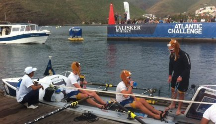 Atlantic Lions at the start of the race