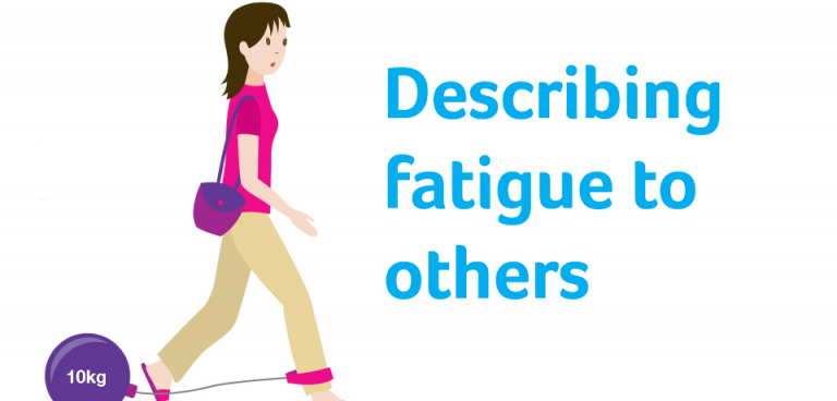 Describing fatigue to others | MS Trust