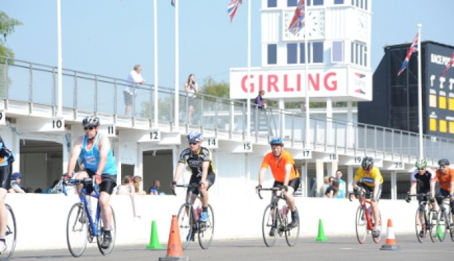 Cycling round Goodwood