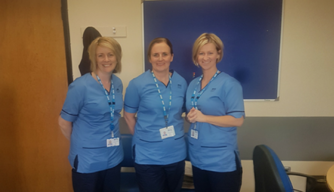 Lanarkshire MS nurses