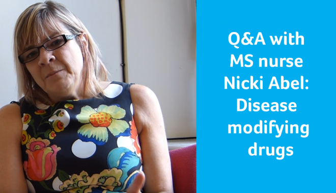 Q&A with MS nurse Nicki Abel: Disease modifying drugs