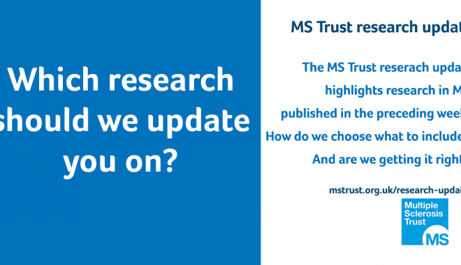What research should we update you on?