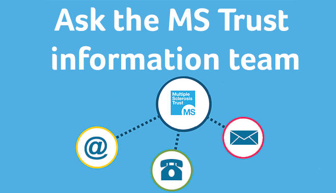 Ask the MS Trust info team