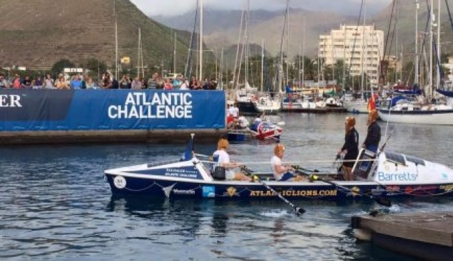 Atlantic Lions at the start of the Talisker Whiskey Atlantic Challenge