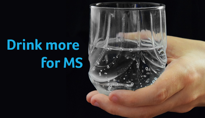 Drink more for MS