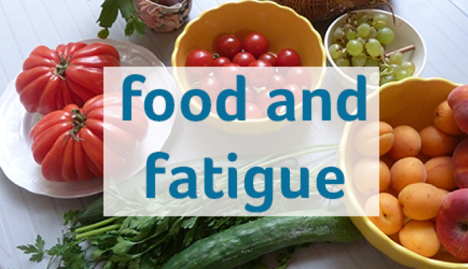 Food and fatigue