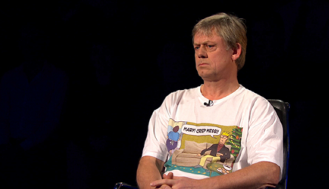 Graham Fellows on Celebrity Mastermind