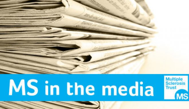 MS in the media logo (a pile of newspapers - a different one to last year)