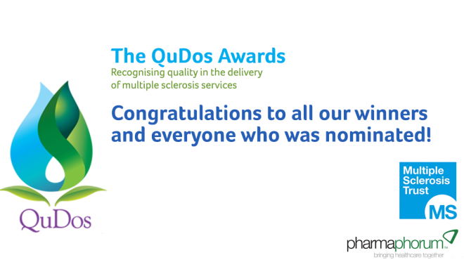 Congratulations to all the winners of the QuDoS awards
