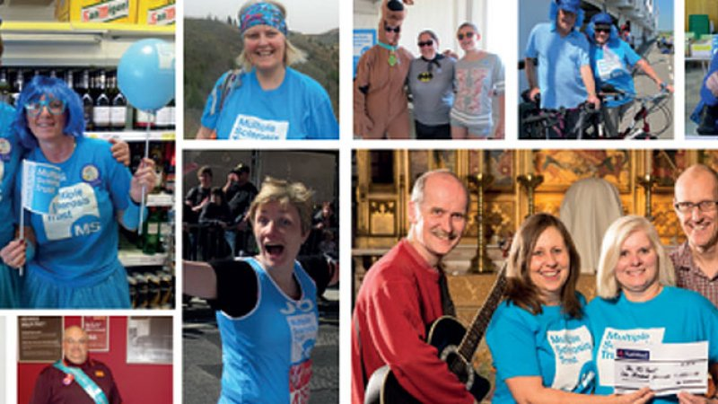 Montage of fundraising tips