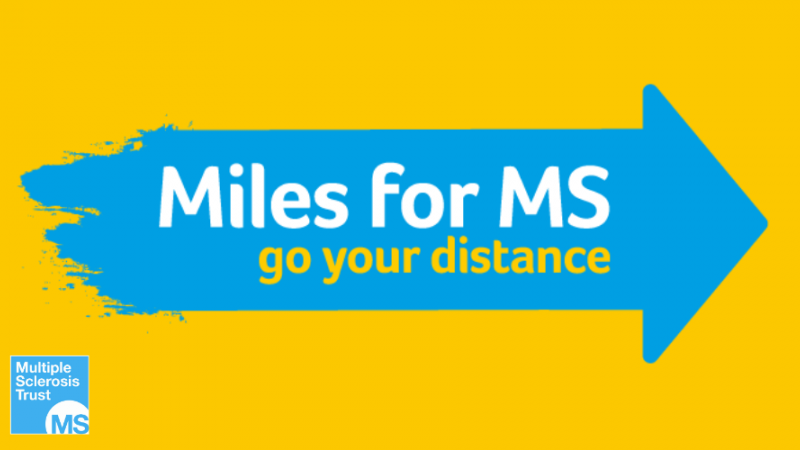 Miles for MS logo