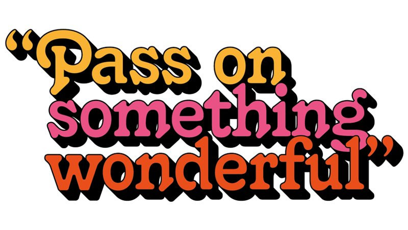 Image of Pass on Something Wonderful logo