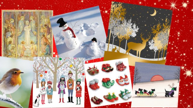 MS Trust Christmas cards