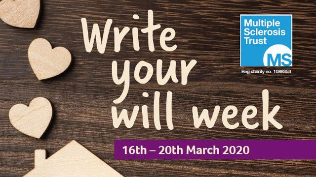 Write your will week 2020