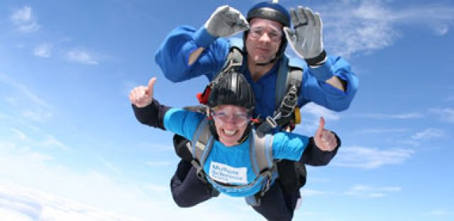 Skydive for the MS Trust
