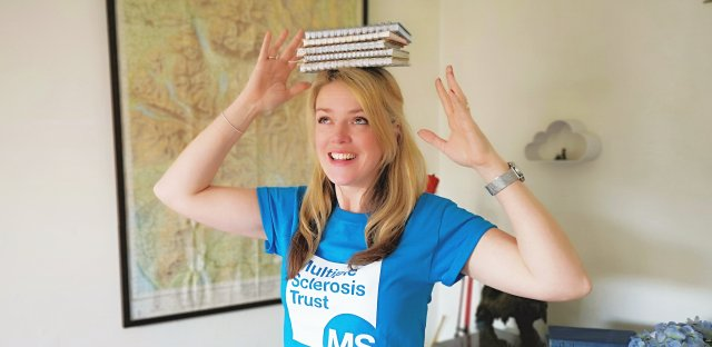 Don't judge a book by its cover – Becky's books help the MS Trust