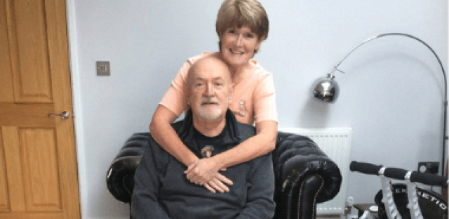 Julie and Martin: Our double diagnosis