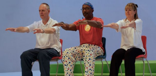 Move it for MS: Mr Motivator