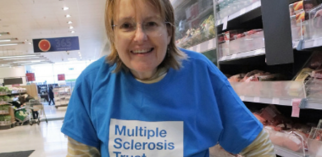 Taking on Miles for MS for the MS Trust