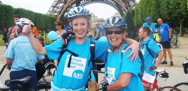London to Paris cycle 2019