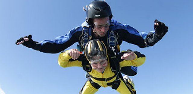 Why I decided to skydive at the age of 72