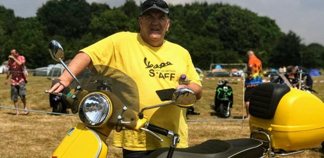 My Vespa adventure for the MS Trust