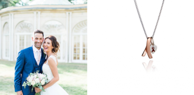 Supporter designs necklace to raise money for the MS Trust