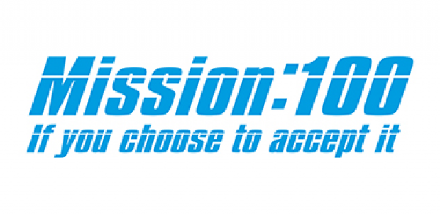 Take part in Mission 100