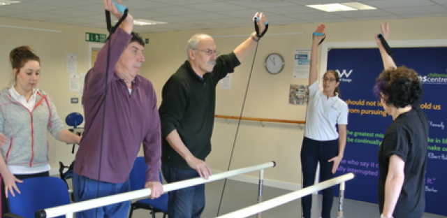 Staying active: resistance training and MS