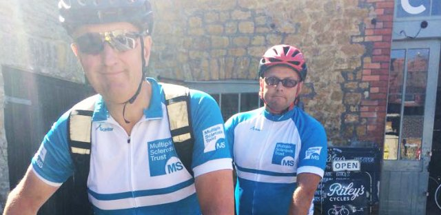 Rich's tandem ride for MS
