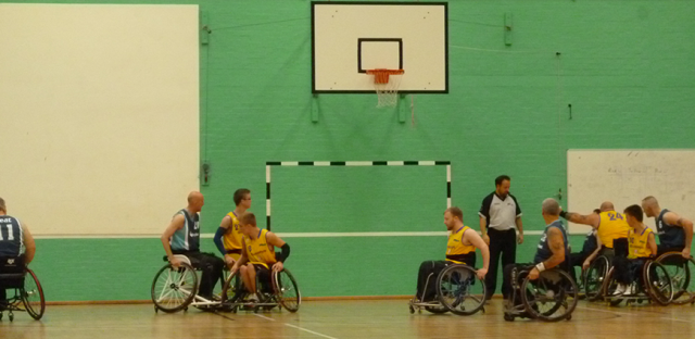 How wheelchair basketball has helped with my MS