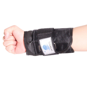 a weighted wrist band